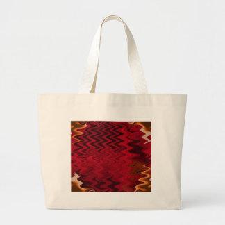 ondulación roja bolsas