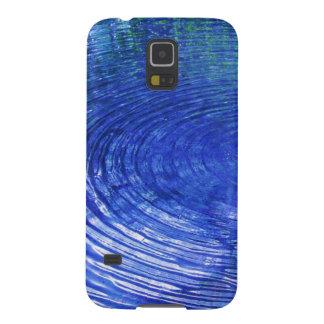 Ondulaciones azules carcasa galaxy s5