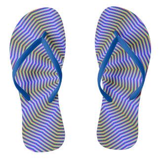 Ondulaciones de la estrella de los flips-flopes