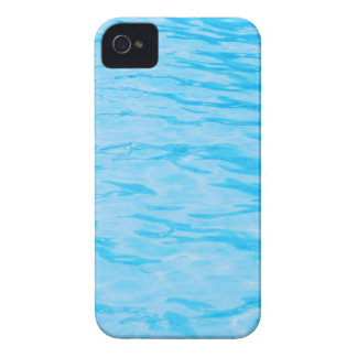 Ondulaciones del agua azul iPhone 4 Case-Mate cobertura
