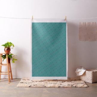 Ondulaciones del agua azul tejadas en tela