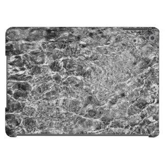 Ondulaciones del agua de río funda para iPad air
