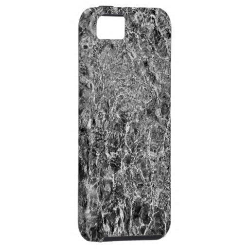 Ondulaciones del agua de río funda para iPhone SE/5/5s