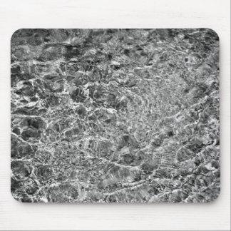 Ondulaciones del agua de río tapetes de raton