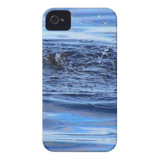 Ondulaciones del agua iPhone 4 Case-Mate cobertura
