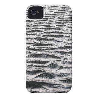Ondulaciones del agua iPhone 4 Case-Mate cárcasa