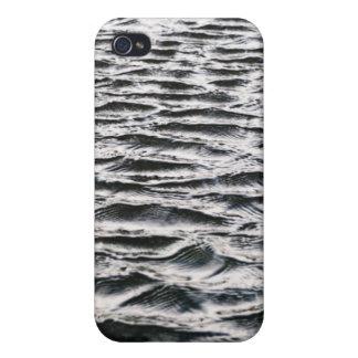 Ondulaciones del agua iPhone 4 carcasa