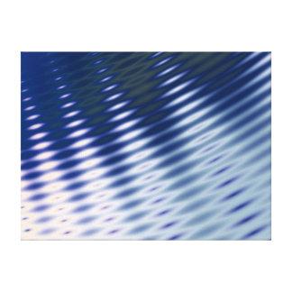 Ondulaciones del agua - ilustraciones del fractal lona estirada galerias
