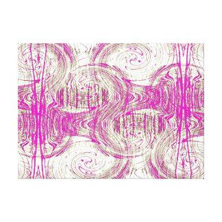 Ondulaciones en agua inmóvil impresión en lienzo