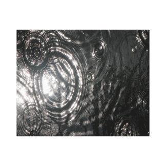 Ondulaciones en arte de la original del agua