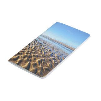 Ondulaciones en la arena en Bretaña Cuaderno Grapado