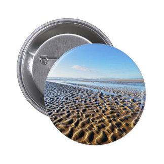 Ondulaciones en la arena en Bretaña Pin Redondo 5 Cm