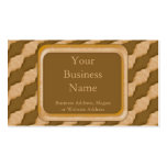 Ondulaciones onduladas - mantequilla de cacahuete  tarjeta de visita