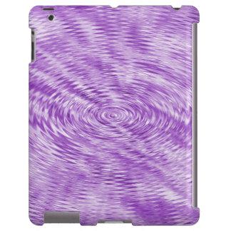 Ondulaciones púrpuras funda para iPad