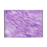 Ondulaciones púrpuras iPad mini funda