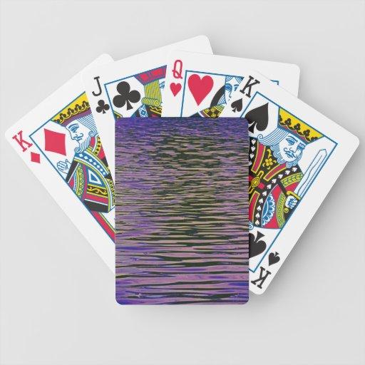 Ondulaciones violetas baraja