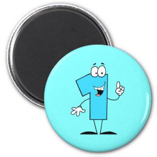 One 2 Inch Round Magnet