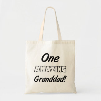One Amazing Grandad Tote Bag