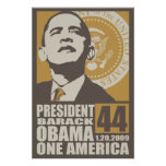 One America Inauguration Poster