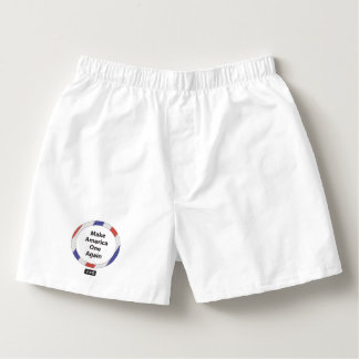 One America Men's Boxercraft Cotton Boxers