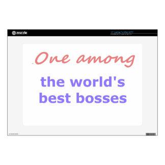 """One among best bosses skin for 15"""" laptop"""