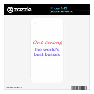 One among best bosses skin for the iPhone 4S