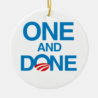 ONE AND DONE CHRISTMAS ORNAMENTS