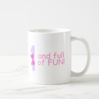 One And full Of Fun (Bow) Mugs