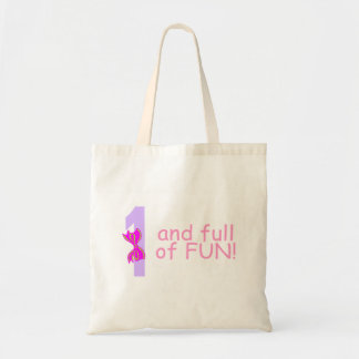 One And full Of Fun (Bow) Tote Bag
