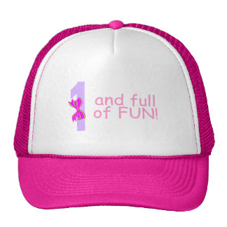 One And full Of Fun (Bow) Trucker Hat