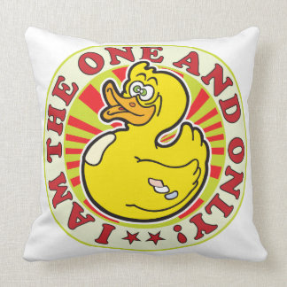 One And Only Throw Pillows