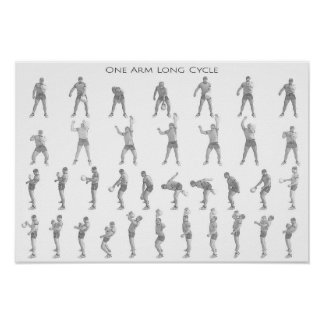 One Arm Long Cycle Poster