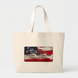 One-Armed Man Tote Bags