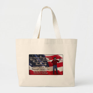 One-Armed Man Canvas Bags
