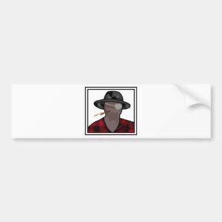 One-Armed Man Bumper Sticker