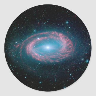 One Armed Spiral galaxy NGC 4725 Classic Round Sticker
