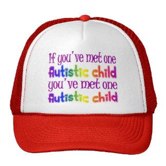 One Autistic Child Trucker Hats