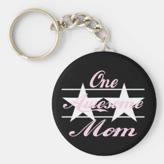 One Awesome Mom Key Chains