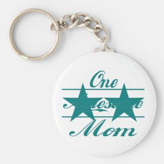 One Awesome Mom Keychains
