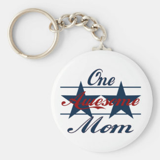 One Awesome Mom Key Chain