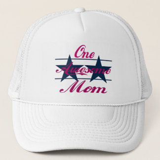 One Awesome Mom Trucker Hat