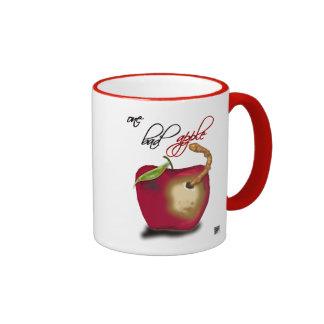 one bad apple ringer mug