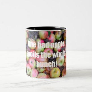 One bad apple... Two-Tone coffee mug
