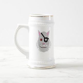 One Bad Cat Beer Stein