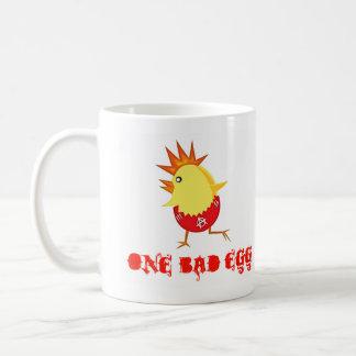 One Bad Egg Punk Rock Easter Chick Coffee Mug