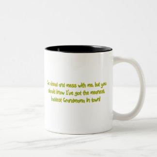 One Bad Grandmama Two-Tone Coffee Mug