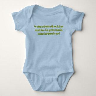 One Bad Grandmere Baby Bodysuit