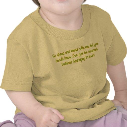 One Bad Grandpop Shirts