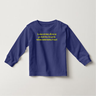 One Bad Mammaw Toddler T-shirt
