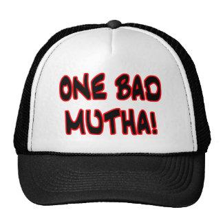 one bad mutha! mesh hat